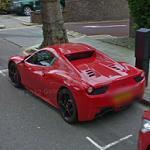 Ferrari 458 Spider (StreetView)