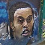 Ronaldinho graffiti (StreetView)
