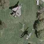 F-4D Phantom II and UH-1 Huey (Google Maps)