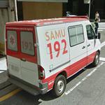 SAMU ambulance