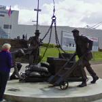 'Landed' sculpture (StreetView)