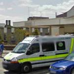 Ambulance at Basingstoke & North Hampshire Hospital (StreetView)