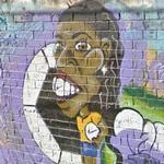 Ronaldinho graffiti