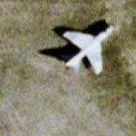 A-7D Corsair II (Google Maps)