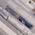 Atchison, Topeka & Santa Fe Railway #2912 (Google Maps)