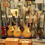 Vintage Les Paul guitars (StreetView)
