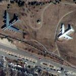 B-52 and C-135 (Google Maps)