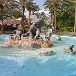 Audubon Zoo Fountain