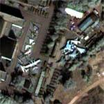 Densely Packed Air Museum In Moscow (Google Maps)