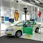 Google car in the Computer History Museum (StreetView)