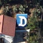 John Stamos' Disneyland sign (Google Maps)