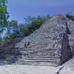 The Nohoch Mul pyramid