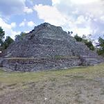 Temple Pyramid at Chacchoben