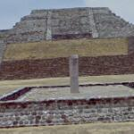 Pyramid in Xochicalco (StreetView)