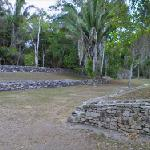 The Ball Court in Kohunlich