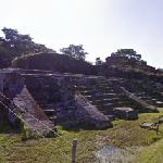 Temple III and III-A of Comalcalco (StreetView)