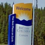 Welcome to British Columbia (StreetView)