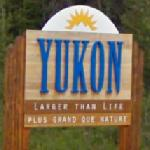 Yukon Territory sign (StreetView)