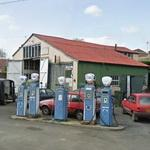 Britain's oldest petrol station (StreetView)