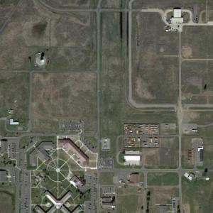 1994 Fairchild Air Force Base B-52 crash site (Google Maps)