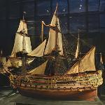 Model ship William Rex
