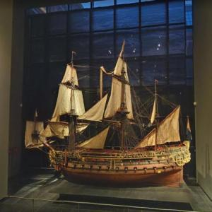 Model ship William Rex (StreetView)