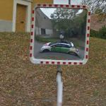 Street View car reflection (StreetView)