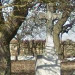 Kríž v zahrade