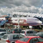 Jet Restaurant of Niki Lauda (Ilyushin IL-62)