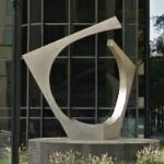 'Two Angled Forms' by James Rosati (StreetView)