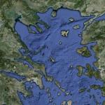 Aegean Sea (Google Maps)
