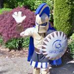 Mascot - Trinity Western Spartans