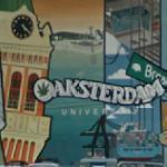 Oaksterdam University mural