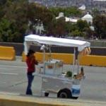 Freeway Food Stand in Mexico (StreetView)