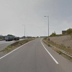 Mulhouse Polish bus crash site (11 Sep 2012) (StreetView)