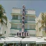 The Famed Colony Hotel In Miami (StreetView)