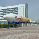 H-II rocket at the TKSC (StreetView)