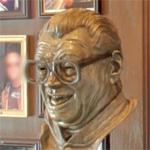 Harry Caray sculpture (StreetView)