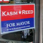 Kasim Reed campaign poster
