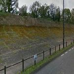 Old Part of Brooklands Circuit (StreetView)