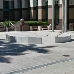 'Palm Beach County Courthouse Security Barrier Project' by Michael Singer (StreetView)