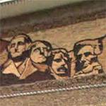 Corn art - Mount Rushmore (StreetView)