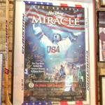 Autograhed Miracle poster
