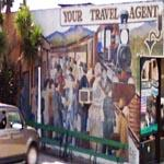 "Mural ""YOUR TRAVEL AGENT"" (StreetView)"
