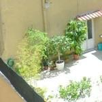 Terrace in Rome (StreetView)