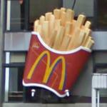 Giant McDonald's French Fries (StreetView)