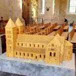 Scale model of Lund Cathedral (StreetView)