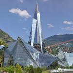 Caldea (tallest building in Andorra) (StreetView)