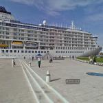 MS The World cruiser (StreetView)