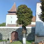14th century Transylvanian Saxon fortified church (StreetView)